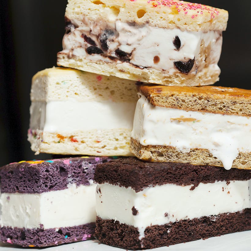Choose Your Own Ice Cream Cake Sandwiches - 6 Pack