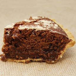 Chocolate Shoofly Pie