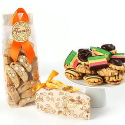 Italian Cookie + Torrone Sampler