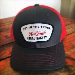 Red Truck Trucker Cap