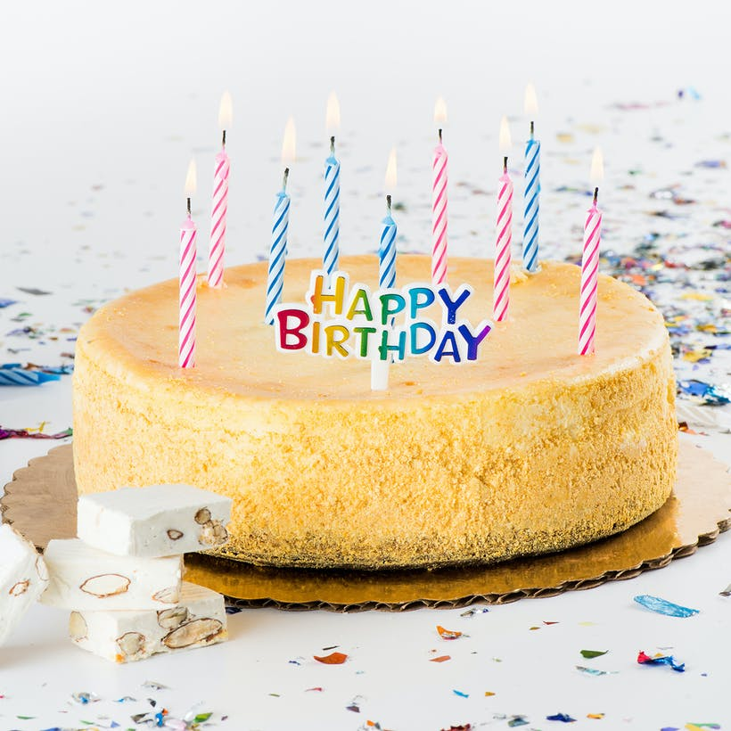 New York Cheesecake Birthday Pack By Ferrara Bakery
