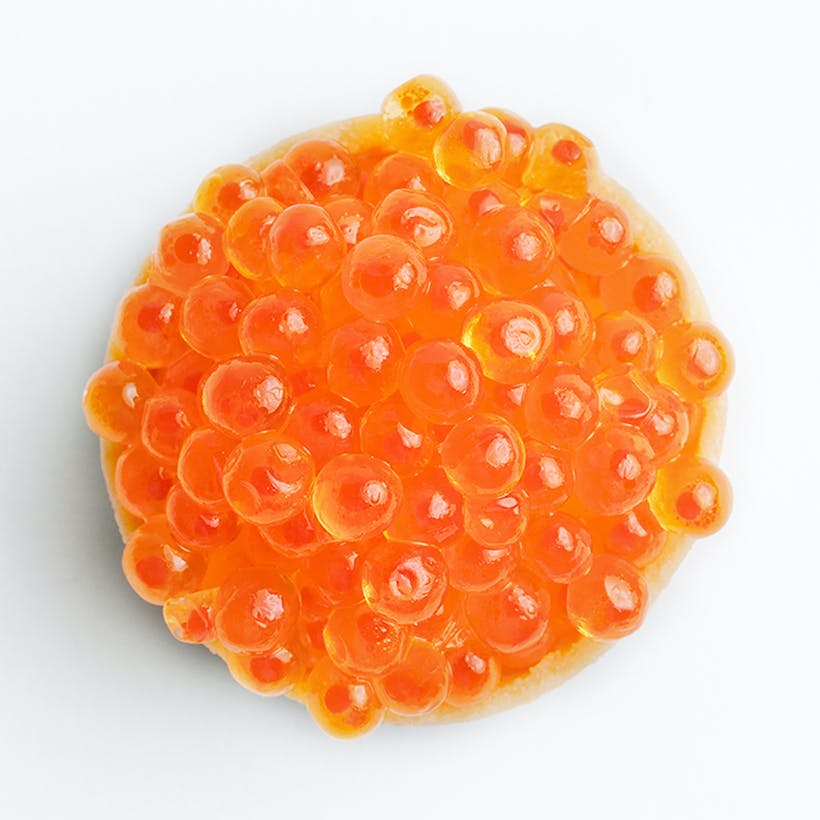 Lemon Oil Trout Roe