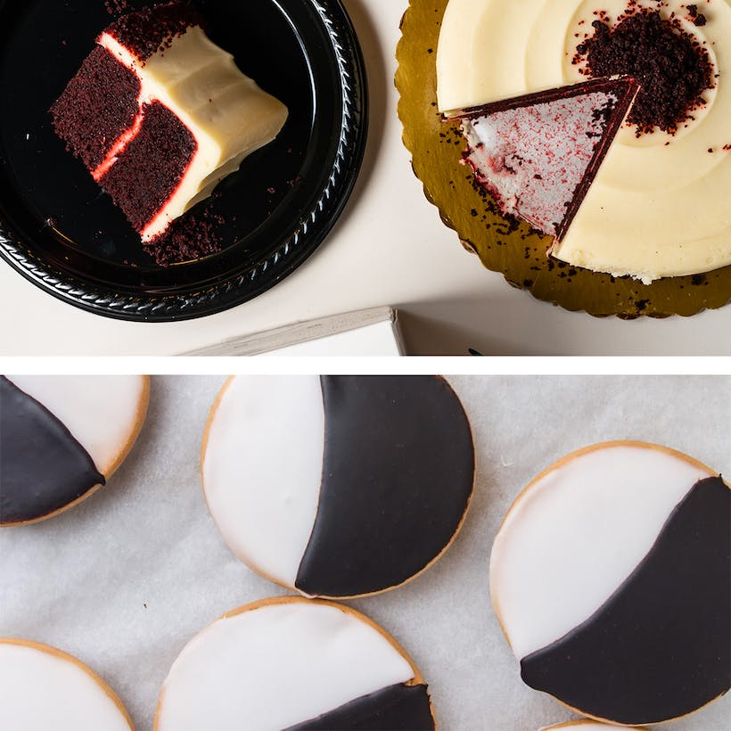 Black and White Cookies + Cake Combo Pack