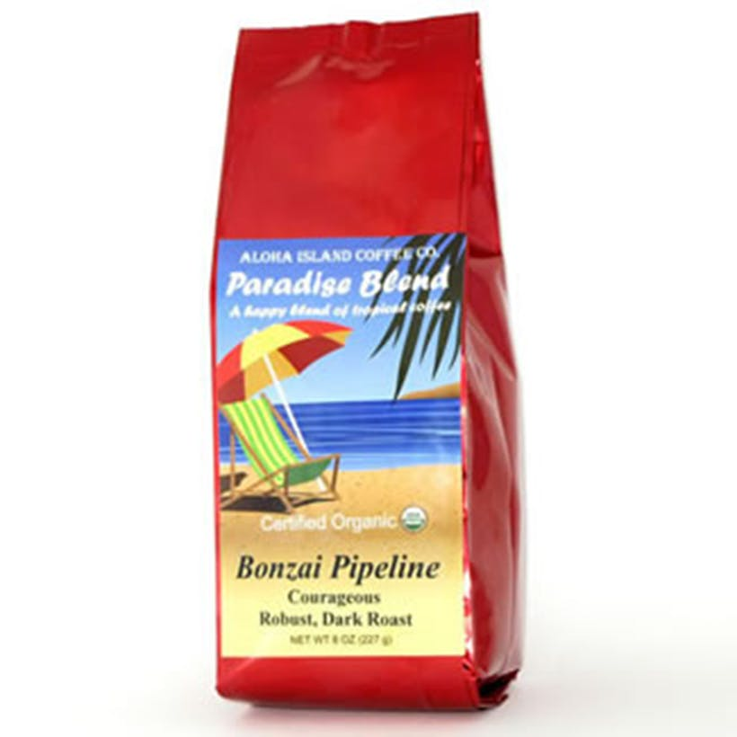 Bonzai Pipeline Organic Arabica Coffee